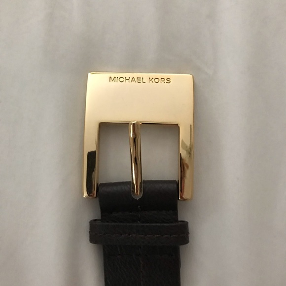 Michael Kors Accessories - Brown Belt | Michael Kors